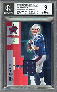 Amazoncom Tom Brady Trading Cards Sports Collectibles