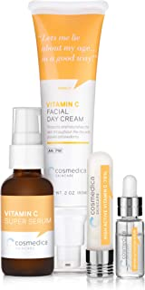 Vitamin C Serum- 79%, Vitamin C Super Serum, 15% Vitamin C Moisturizer Facial Set