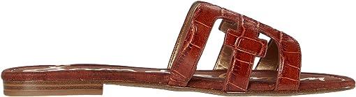 Warm Mahogany Splendor Croco Leather