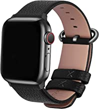 Fullmosa Compatible Apple Watch Band 38mm 40mm 42mm 44mm Leather Compatible iWatch Band/Strap Compatible Apple Watch SE & ...