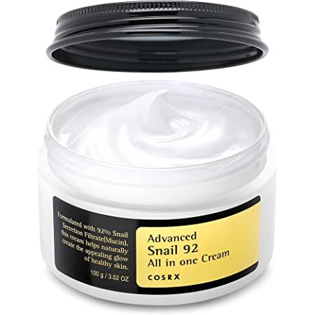 COSRX Advanced Snail 92 All in One Repair Cream 3.52 oz / 100g | Snail Secretion Filtrate 92% for Moisturizing | Korean Skin Care