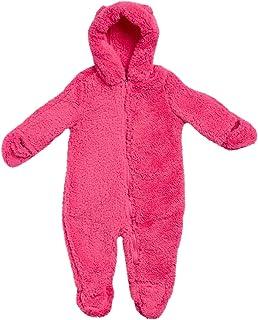 Wippette Baby Girls Cozy Sherpa Fleece Pram with Hood