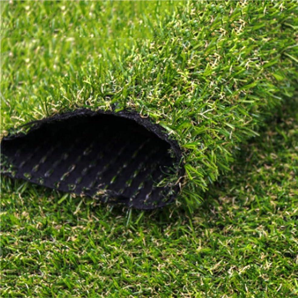 ダイエット通行料金津波YNFNGXU 20 mmパイル高密度人工芝プラスチック緑の植物の装飾幼稚園/バルコニー緑毛布 (Size : 2x3.5m)