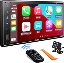Double Din Car Stereo Compatible with Apple Carplay, 7...
