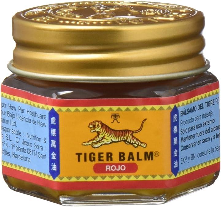 Balsamo di tigre rosso , 20 gr dietisa C-27