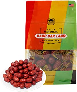 DOL Organic Dried Chinese Red Dates Jujube Hong Zao ,Grocery & Gourmet Food Snack Foods Dried Fruit & Raisins Dates 8oz/bag