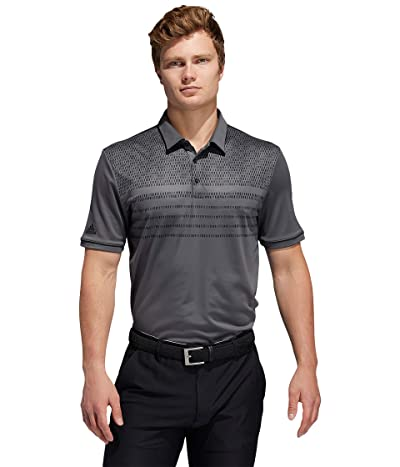 adidas Golf Core Novelty Polo (Grey Six) Men