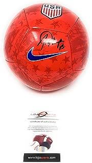 Alex Morgan TEAM USA Signed Autograph Nike Soccer Ball LOJO Sports Certified