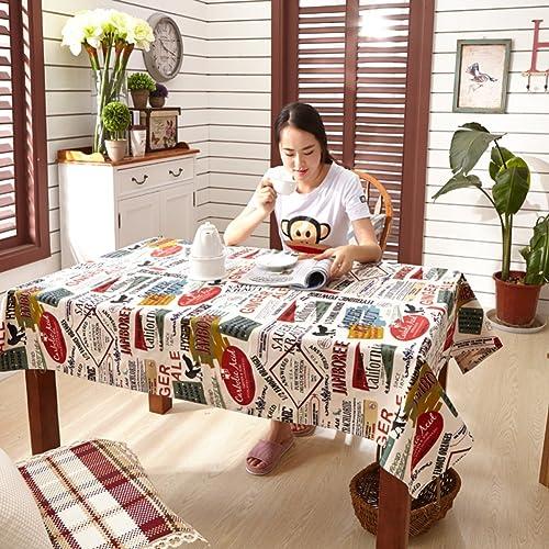 Pastoral Tuch Tischdecken Tischdecken Coffee Table  das Tischtuch Tischdecken-A 150x220cm(59x87inch)