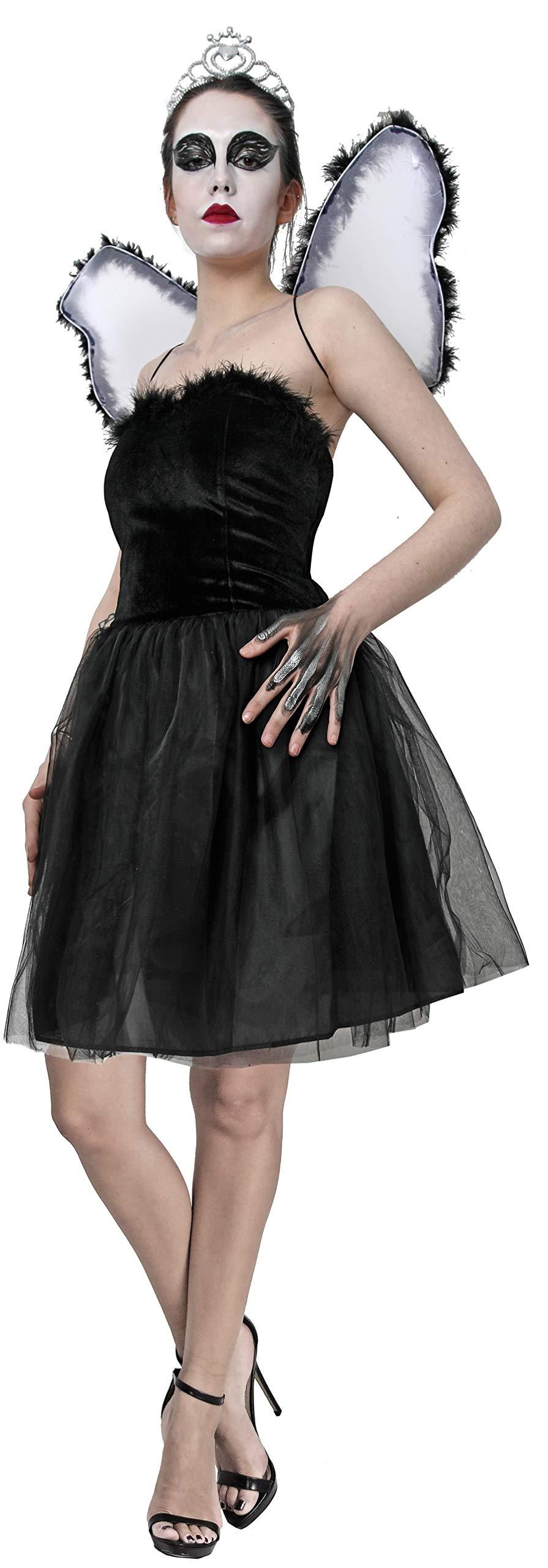 Gojoy shop- Disfraz de Cisne Negro para Mujeres Halloween Canaval ...