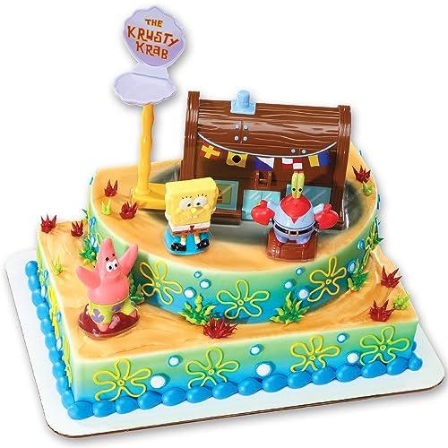 Marvelous Spongebob Birthday Cakes Amazon Com Funny Birthday Cards Online Alyptdamsfinfo