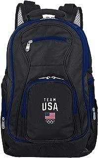 Olympics Team USA Colored Trim Premium Laptop Backpack