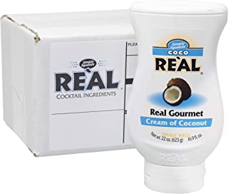 Coco Reàl, Cream of Coconut, 16.9 FL OZ Squeezable Bottle, Individually Boxed