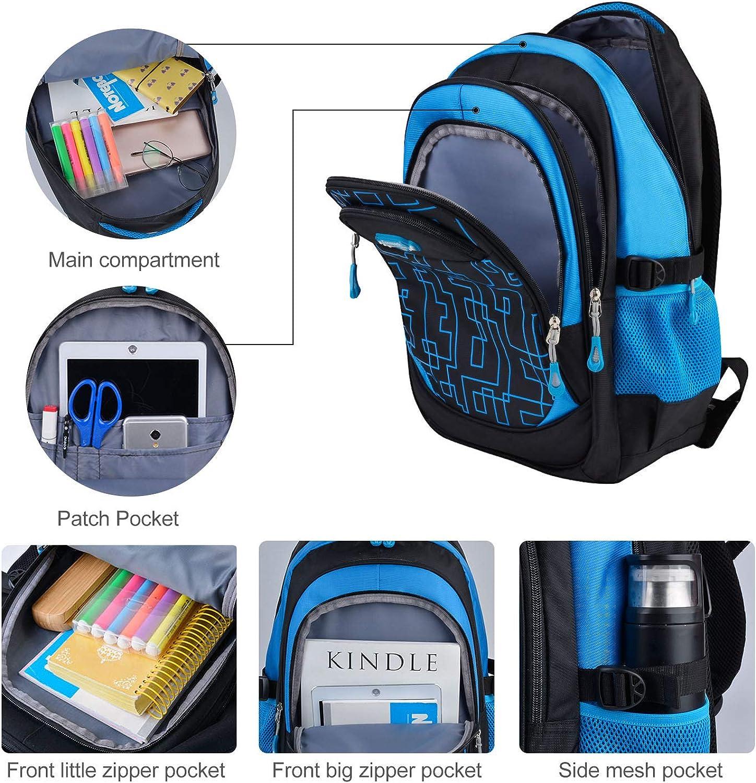 Wheeled Backpack Fanspack Rolling Bacpack with 6 Wheels School Bags Bookbags