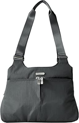 Triple Compartment Satchel
