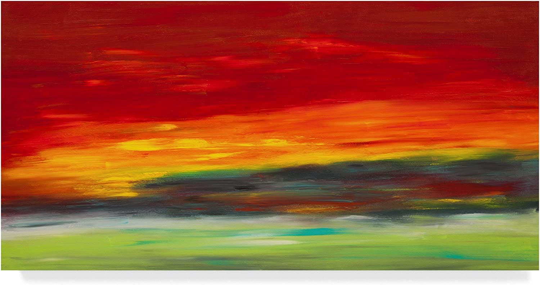 Island Sky by Hilary Winfield, 10x19Inch