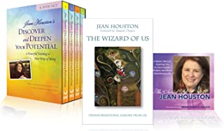 The Complete Jean Houston Bundle - Book, 4 DVDs, and 2 CDs