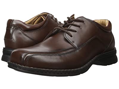Dockers Trustee Moc Toe Oxford (Dark Tan Leather) Men