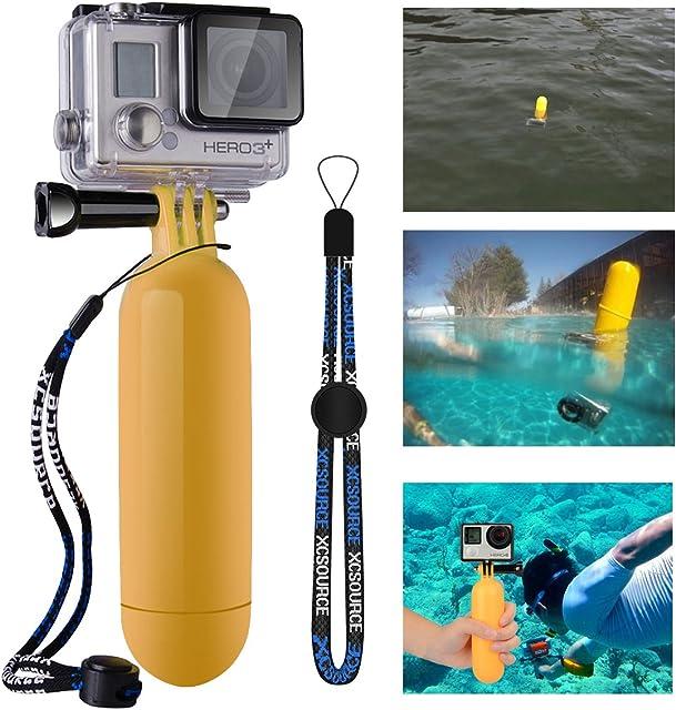 XCSOURCE OS097 - Dispositivo flotante para cámaras digitales GoPro Hero amarillo