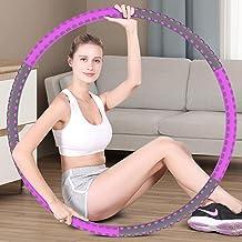 Hoola Hoop Reifen Erwachsene 1.5kg, 6-8 Segmente Abnehmbarer Hoola Hoop Reifen Geeignet Für Fitness/Sport/Zuhause/BüRo/Bau...