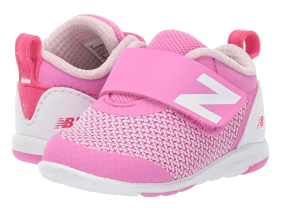 New Balance Kids IO223v1 (Infant/Toddler) (Magenta/White) Girls Shoes