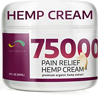 Pain Relief Hemp Cream - Maximum Strength Remedy for Pain Relief - Formulated for Muscle Soreness - Post Workout Recovery ...