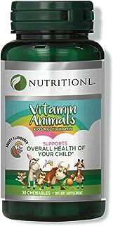 Nutritionl Kids' Chewable Animal Multivitamins 30 Tablets