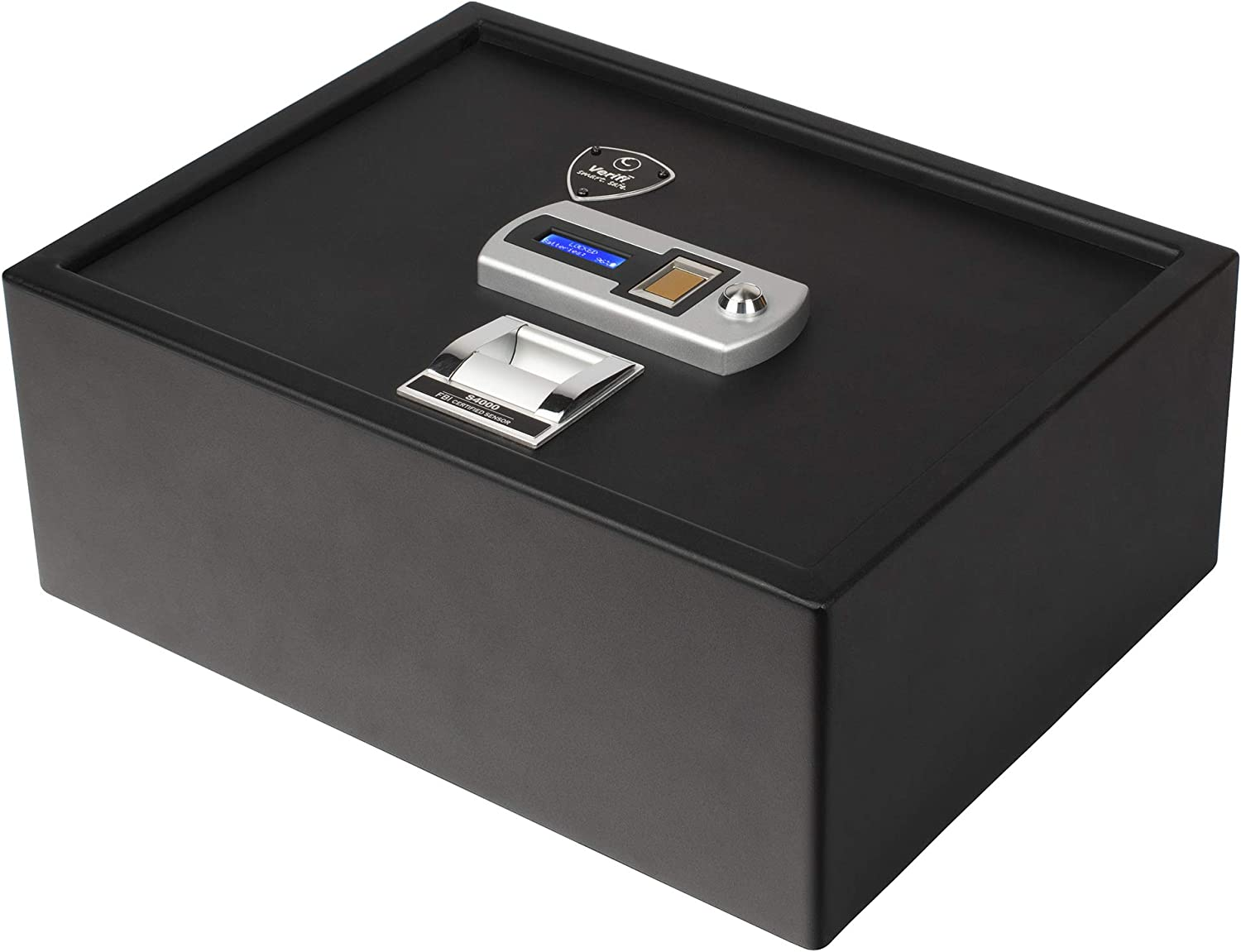 Verifi Smart Safe Biometric Gun Safe with Fingerprint Lock Security for Home or Business Storage of Pistols, Money and Jewelry