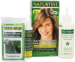 Naturtint - 永久的な毛の着色剤8Aの灰のBlonde - 4.5ポンド [並行輸入品]