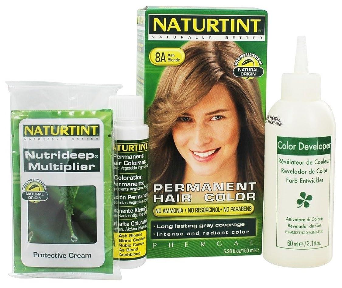 避ける梨しなやかNaturtint - 永久的な毛の着色剤8Aの灰のBlonde - 4.5ポンド [並行輸入品]