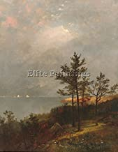 Elite-Paintings KENSETT JOHN GARING STORM LONG ISLAND SOUND ARTIST PAINTING OIL CANVAS REPRO 48x40inch MUSEUM QUALITY
