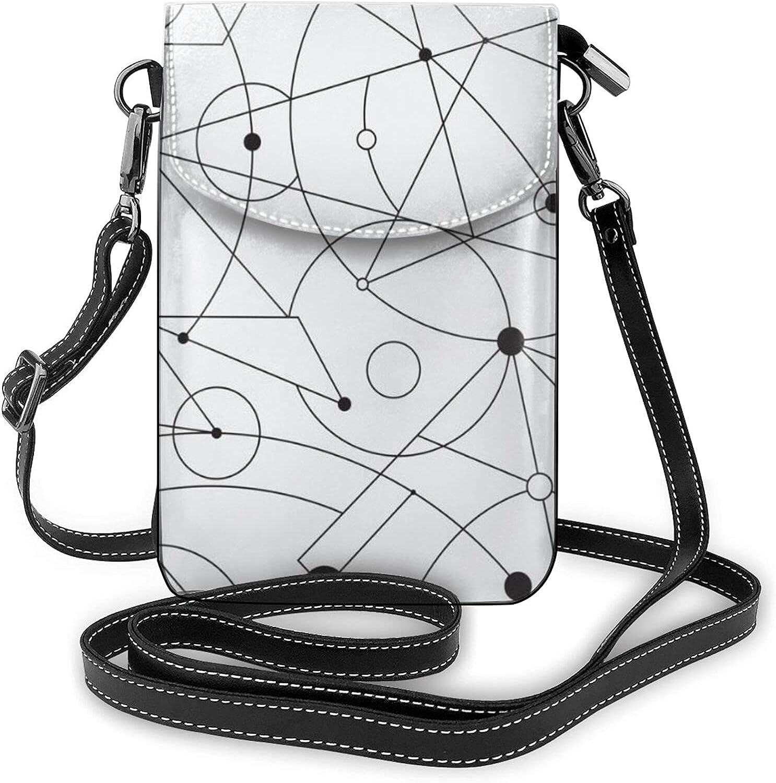 Latest item Lightweight PU Leather Handbag Small Cell Crossbody shop Pho Mini Bag