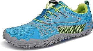 حذاء رجالي من SAGUARO مطبوع عليه عبارة Minimalist Trail Running Shoes Barefoot Walking | صندوق أصابع واسع | مدرب متقاطع في...