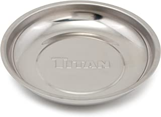 Titan 21264 5-7/8 Round Magnetic Parts Tray