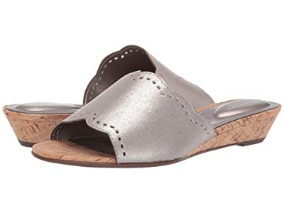 Rockport Total Motion Zandra Slide (Pewter) Women