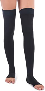 compression thigh highs 20-30 mmhg
