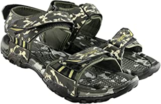 Blinder Mens Camouflage Comfortable Velcro Sandals