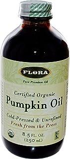 Organic Pumpkin Seed Oil 8.5 oz - Non GMO & Kosher - 100% Fresh Cold Pressed Artisan Oil - for Cooking, Skin Care, Hair Gr...