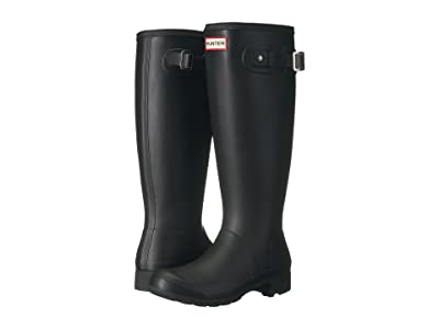 Hunter Original Tour Packable Boot (Black Matte) Women