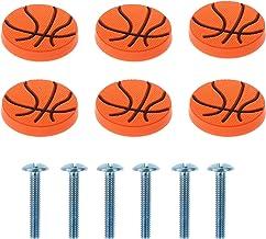 Baluue 6Pcs Lade Knoppen Basketbal Kid Dresser Lade Knoppen Kabinet Kast Deur Keuken Pulls Handvatten Voor Thuis Keuken Ba...