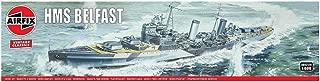 Airfix HMS Belfast 1:600 Vintage Classics Military Naval Ship Plastic Model Kit A04212V