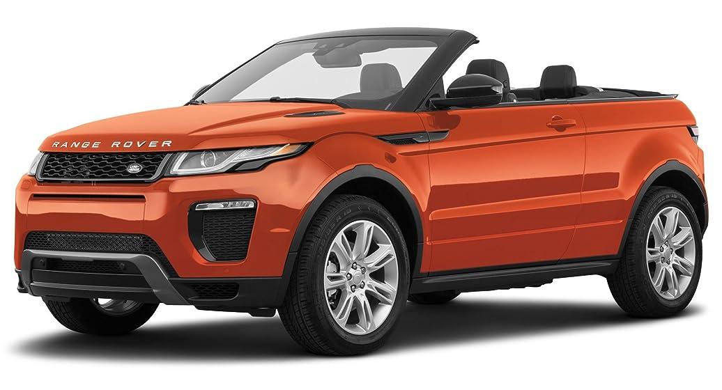 Range Rover Convertible >> 2017 Land Rover Range Rover Evoque Se Dynamic Convertible Phoenix Orange Metallic