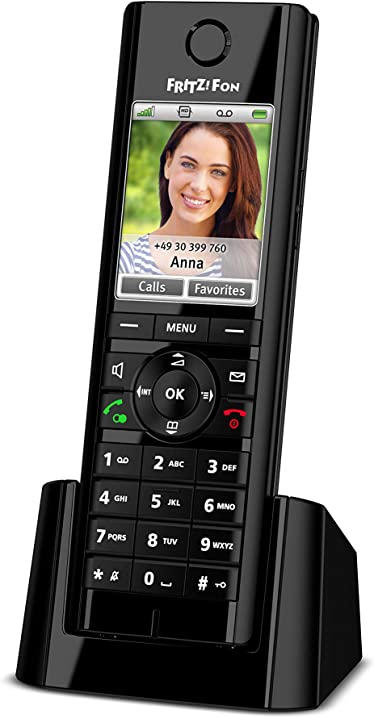 Telefono cordless dect, schermo a colori, telefonia hd, invio e ricezione di posta, notizie rss avm 20002749
