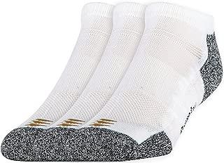 PowerSox Men's 3-Pack Powerlites No Show Socks with Moisture Control