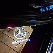 Defov Türbeleuchtung Einstiegsleuchte Autotür Licht 3d Logo Cla Amg Logo Auto