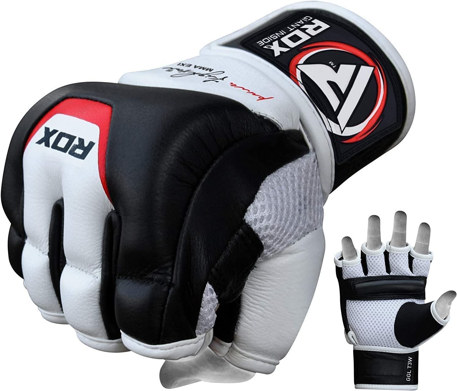RDX MMA New Free Shipping Gloves for Martial Arts Training Cowhide Popular products L Sparring and