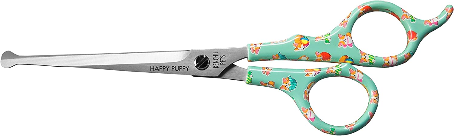 Happy Puppy Home or Professional Dog Grooming Shears//Scissors 5.5 or 6.5 Kenchii Pets