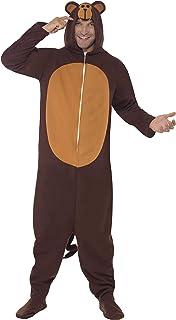 Costume Scimmia Cappello Novità Accessorio Festival Zoo misura adulto