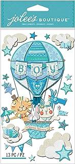 Jolees Stickers en Relief Inscription Special Delivery, bébé garçon