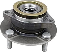CRS NT513308 Wheel Bearing Hub Assembly (1 pack), Front Left (Driver)/ Right (Passenger), for 2007-2012 Nissan Versa, w/ABS …
